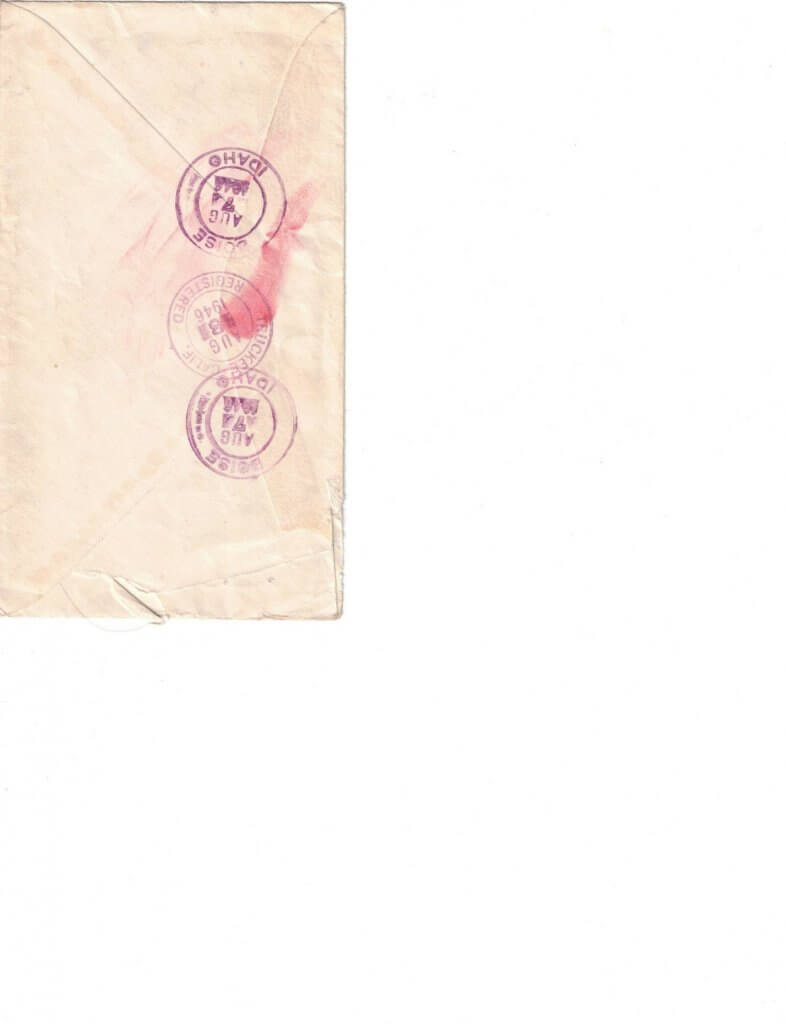 ENVELOPE AUG 7 - BACK