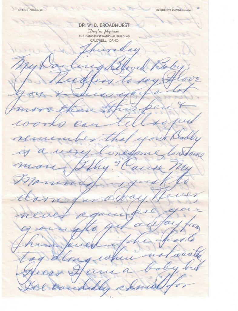 WILLIS LETTER No 5 - P1-8-8-46