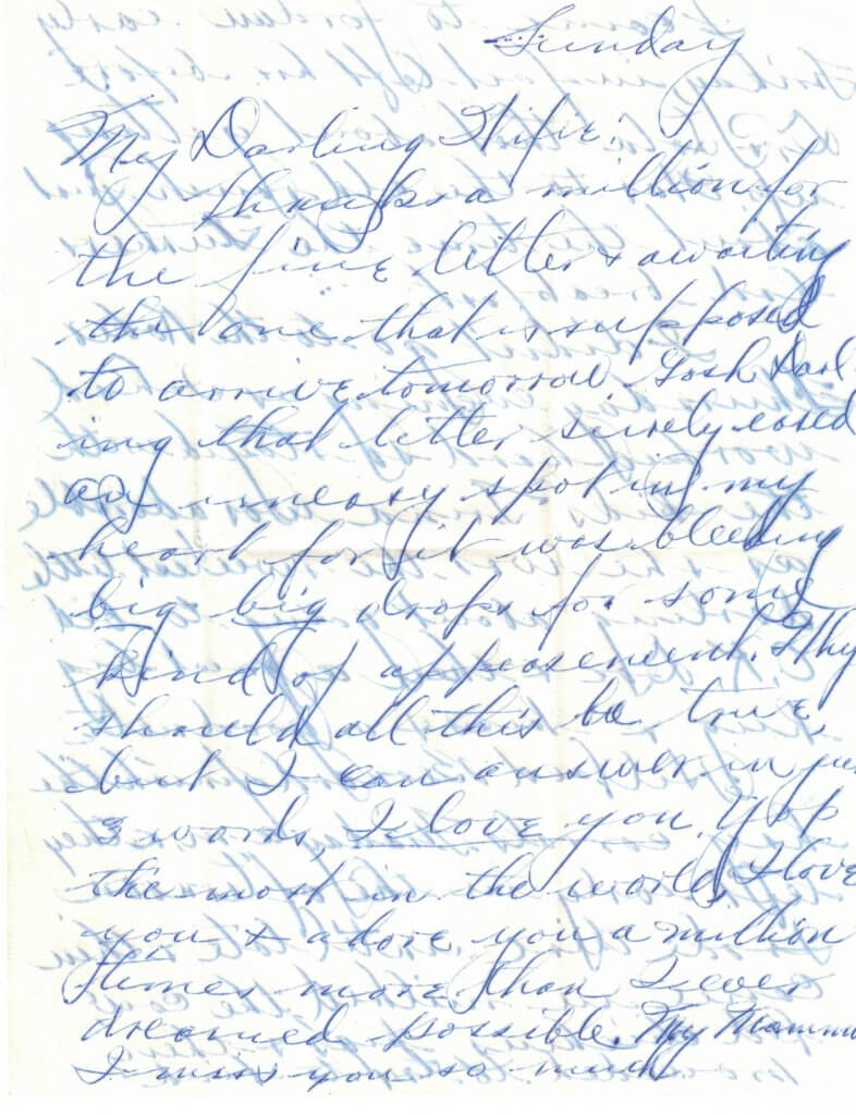 WILLIS LETTER No 6 - P1-8-11-46