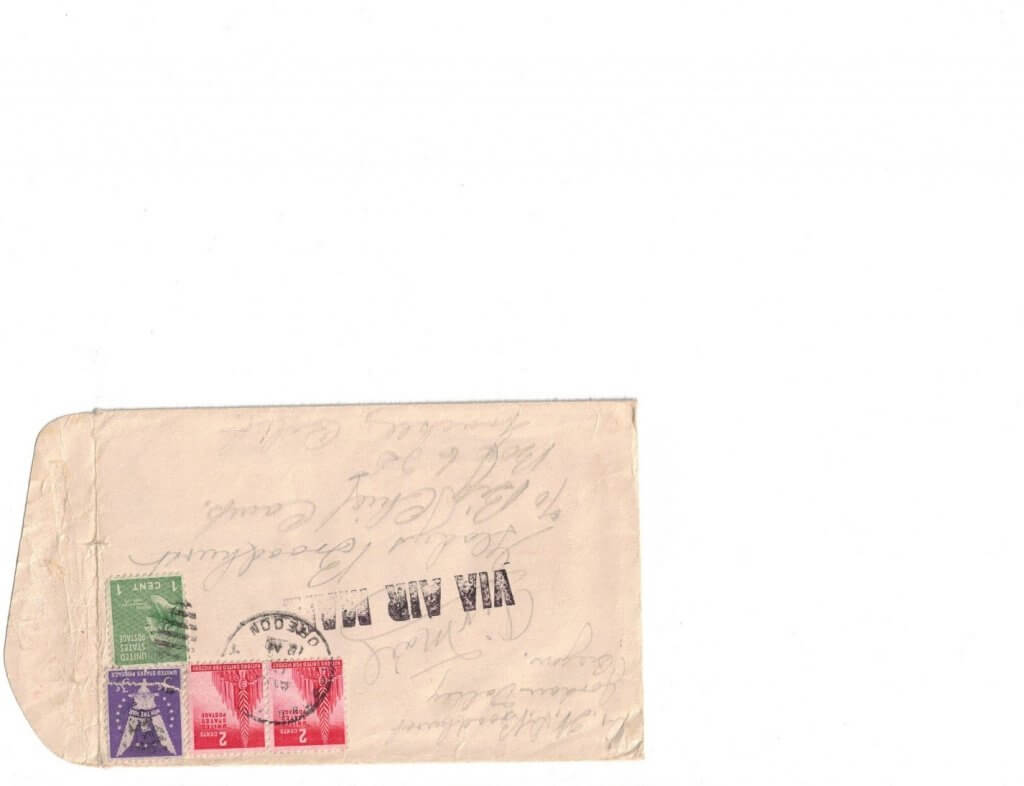 ENVELOPE FOR No 7