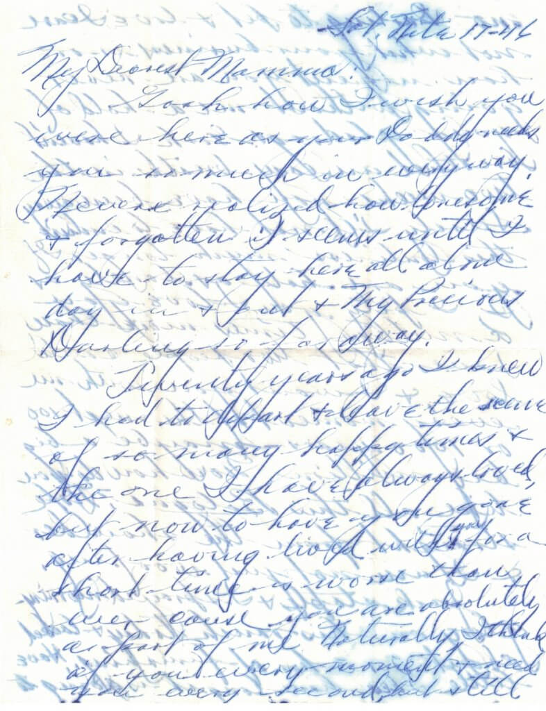WILLIS LETTER No 8 - P1-8-17-46