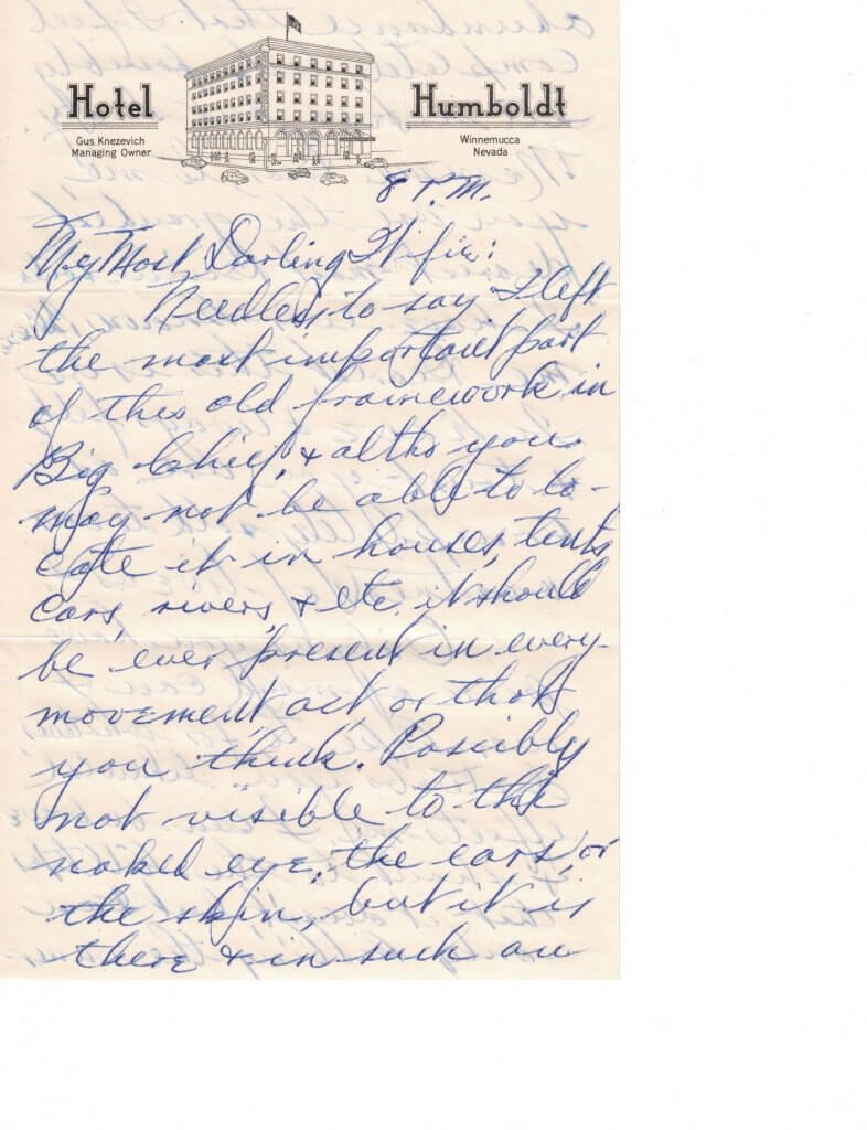 WILLIS LETTER No 9 - P1-9-6-46