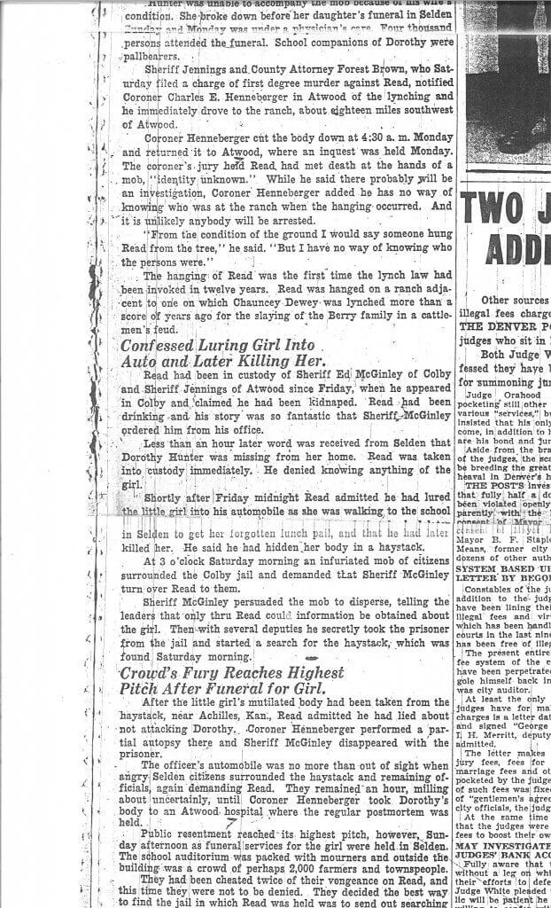 Article 3 Pg. 2 - The Denver Post, Denver, CO