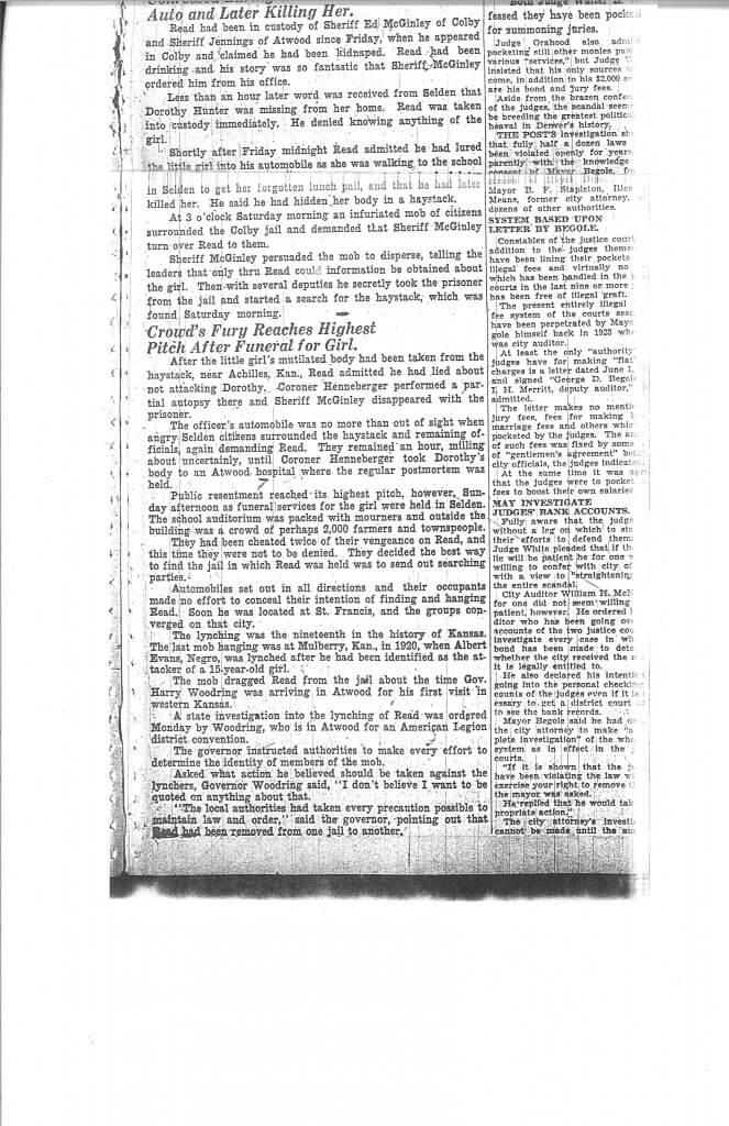 Article 3 Pg. 3 - The Denver Post, Denver, CO