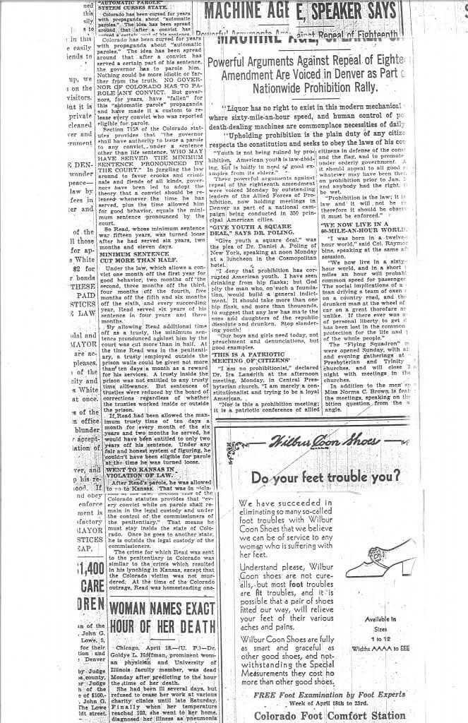 Article 4 Pg. 2 - The Denver Post, Denver, CO