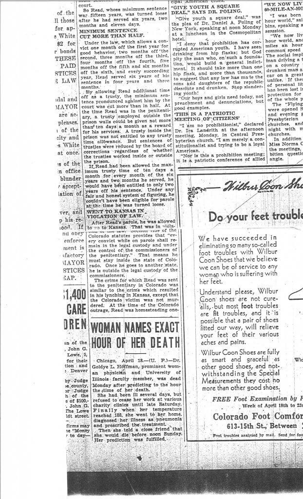 Article 4 Pg. 3 - The Denver Post, Denver, CO