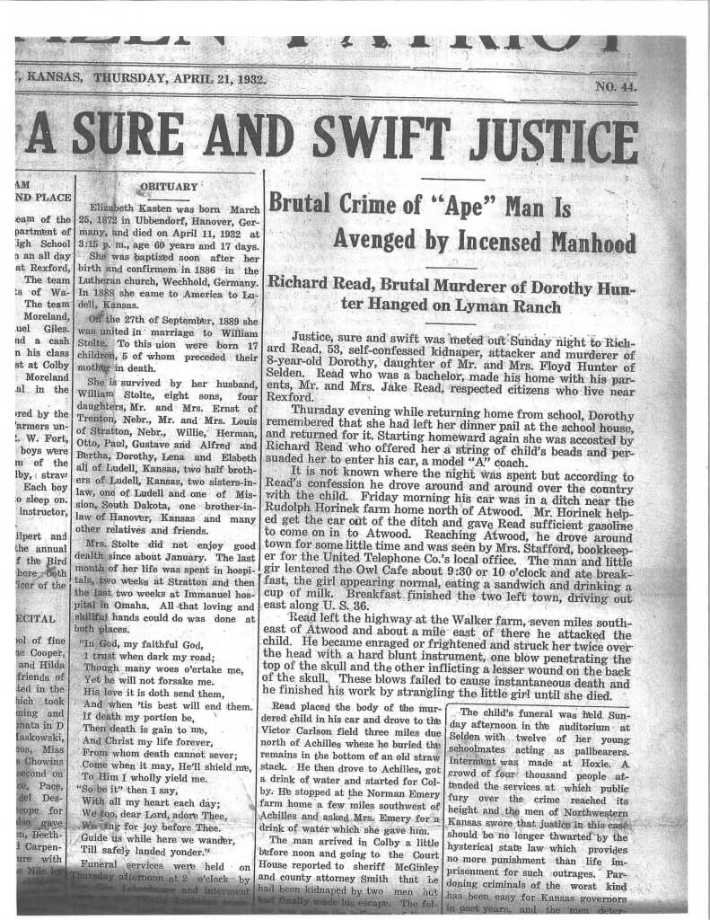 Article 6 - The Citizen Patriot, Atwood, KS