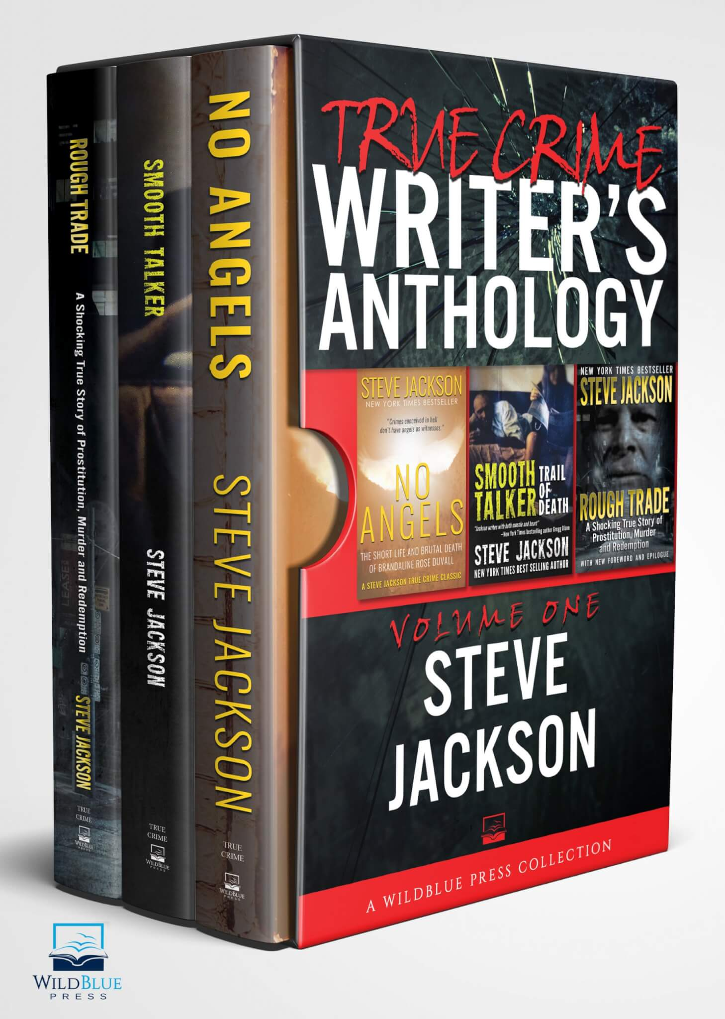 TRUE CRIME WRITER'S ANTHOLOGY Volume One Steve Jackson Kindle Cover