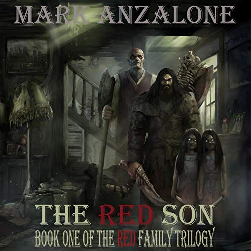 The Red Son Mark Anzalone Audiobook Cover