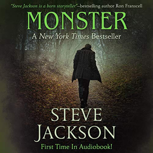 Monster Steve Jackson Audiobook Cover