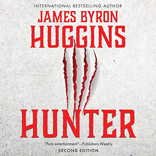 Hunter James Byron Huggins Audiobook Cover