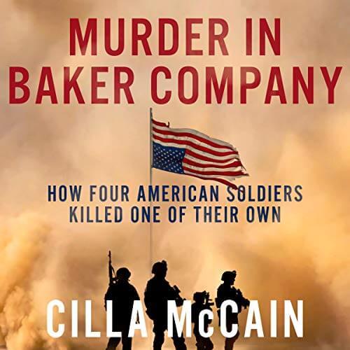 Murder in Baker Company Cilla McCain Audiobook Cover