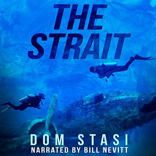 The Strait Dom Stasi Audiobook Cover