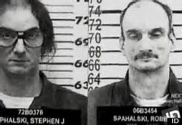 "Stephen and Bruce Spahalski ""Killing Twins""Both twins would travel separate paths to jail but both will have spent most of their lives incarcerated. (Photo: murderpedia.org)"