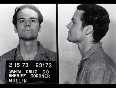 Herb Mullin. Until his murder spree, Mullin had only minor run-ins with police. He killed 13 people, 11 of whom were total strangers. Two of his victims were children, the youngest just 4-years-old. (Photo: youtube.com)